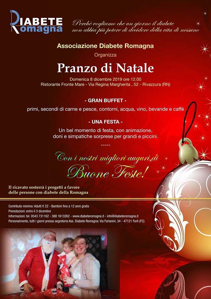 8 Dicembre Pranzo Di Natale Con Diabete Romagna