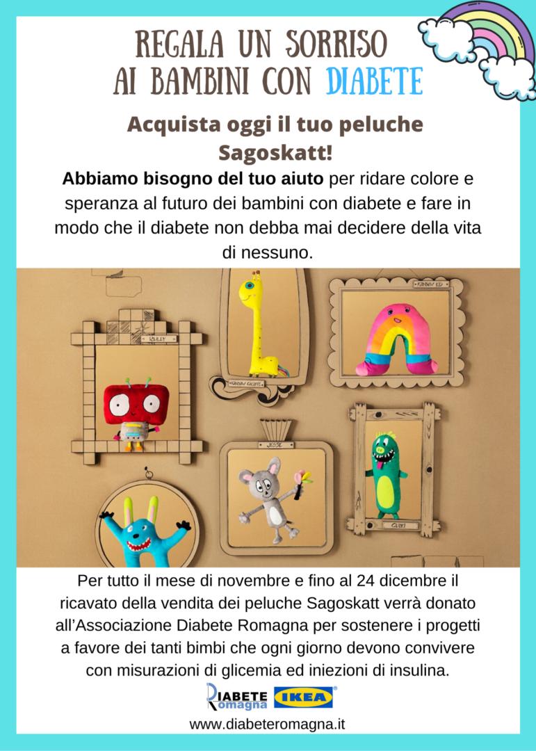 """""""Regala Un Sorriso Ai Bambini Con Diabete"""". Fino Al 24 Dicembre IKEA Rimini Al Fianco Di Diabete Romagna Per Regalare Un Sorriso Ai Bambini Con Diabete"""