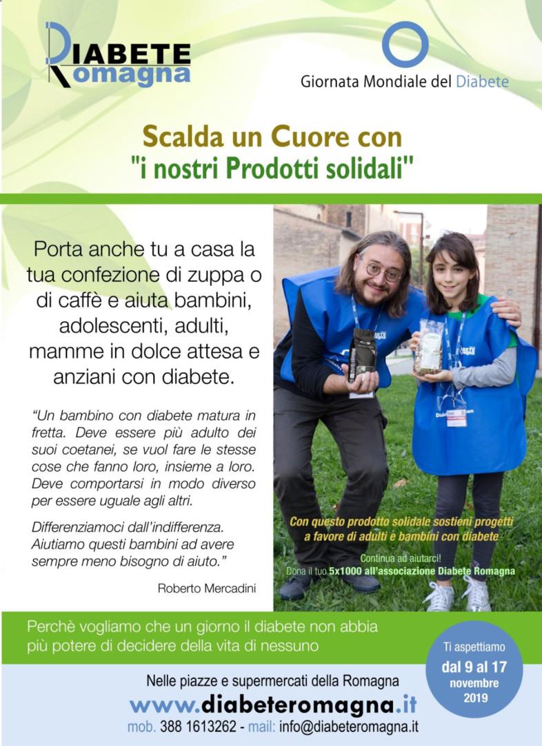 Diabete Romagna E Giornata Mondiale Del Diabete 2019, Per Il Quinto Anno Dal 9 Novembre Al 17 Novembre Oltre Duecento Volontari In Tutta La Romagna Con Stand Informativi E Prodotti Solidali