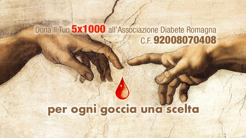 Diabete Romagna, 40.671,92 Euro Dalle Scelte Del 5×1000 Per Chi In Emergenza Covid-19 Non Può Mettere Il Diabete In Attesa.