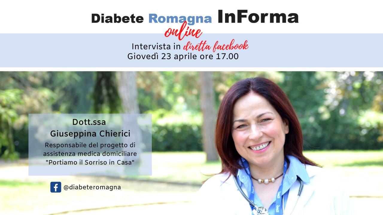 Diabete Romagna InForma Online #1 – Assistenza Medica Domiciliare – Dott.ssa Giuseppina Chierici
