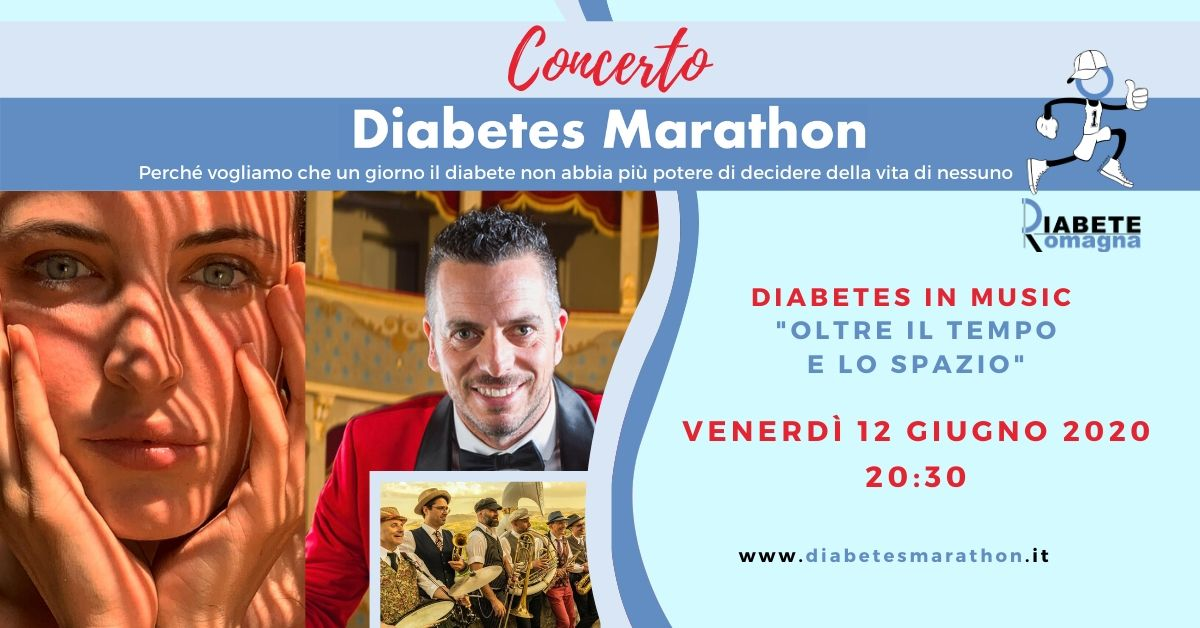 Diabetes In Music, Venerdì 12 Giugno Ore 20.30 In Diretta Facebook E YouTube Marianne Mirage, Mirko Casadei E La Rétromarching Band