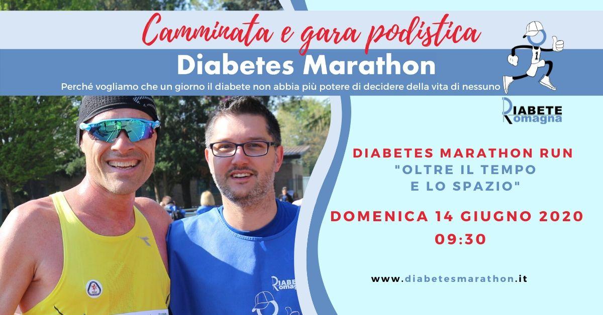 Diabetes Marathon Oltre Il Tempo E Lo Spazio, Domenica 14 Giugno La Grande Gara Di Solidarietà In Diretta Facebook E YouTube