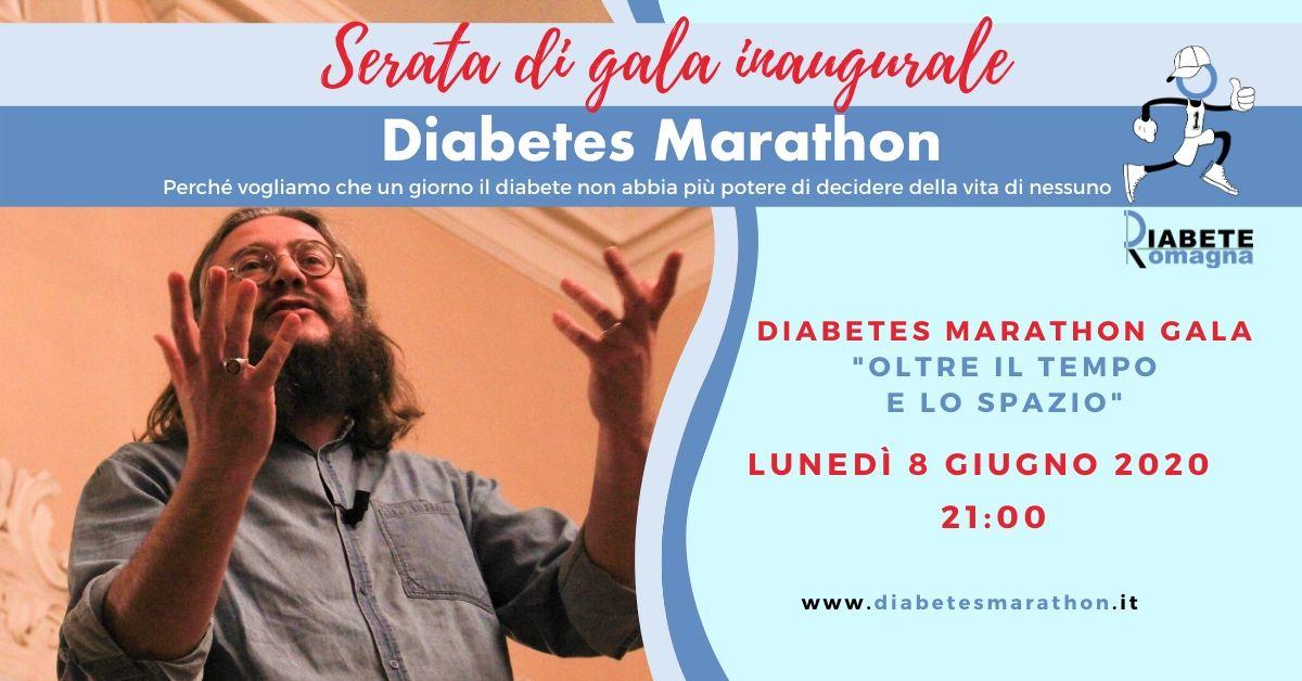 Diabetes Marathon 2020, 8 Giugno Roberto Mercadini Inaugura L'edizione Oltre Il Tempo E Lo Spazio