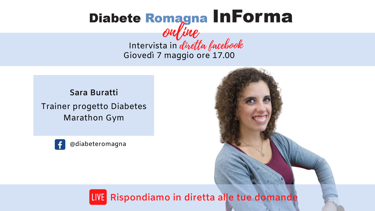 Diabete Romagna InForma Online #3 – Attività Fisica – Sara Buratti