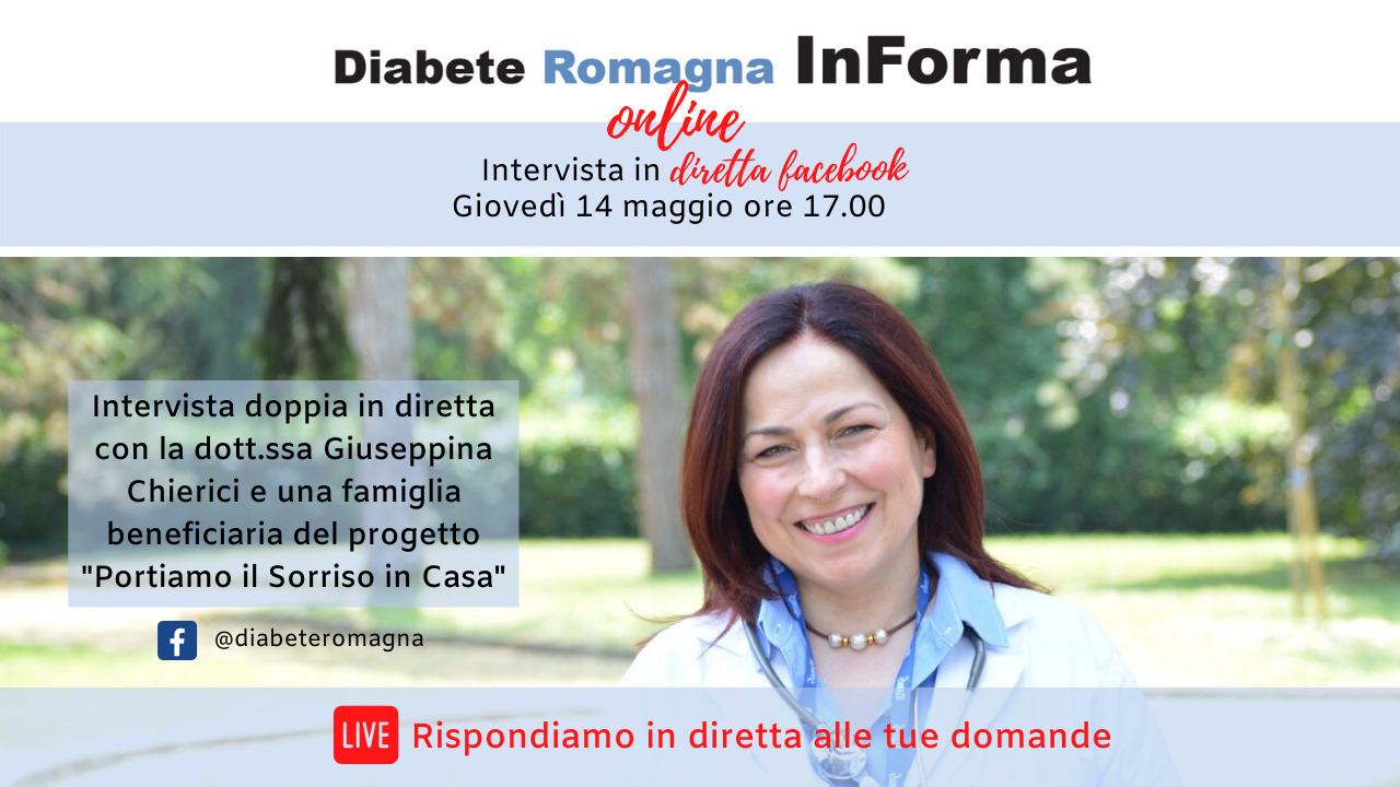 Diabete Romagna InForma Online #4 – Portiamo Il Sorriso In Casa