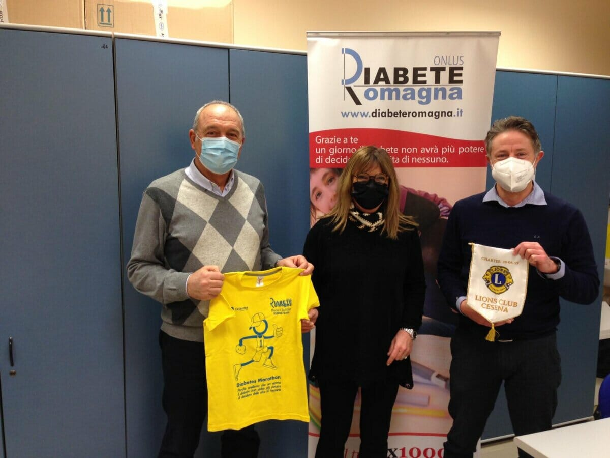 Il Diabete Nell'emergenza Covid-19, Il Lions Club Cesena Insieme A Diabete Romagna Porta Il Sorriso In Casa
