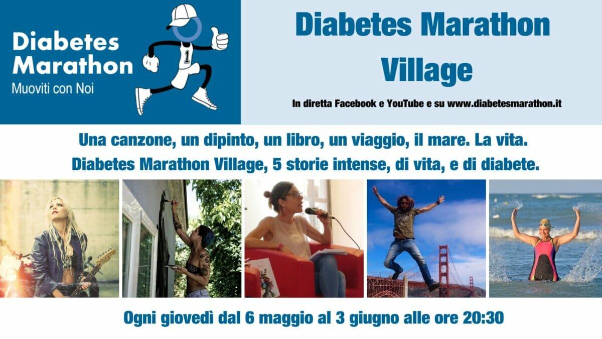 Diabetes Marathon 2021, Al Via Il Diabetes Marathon Village