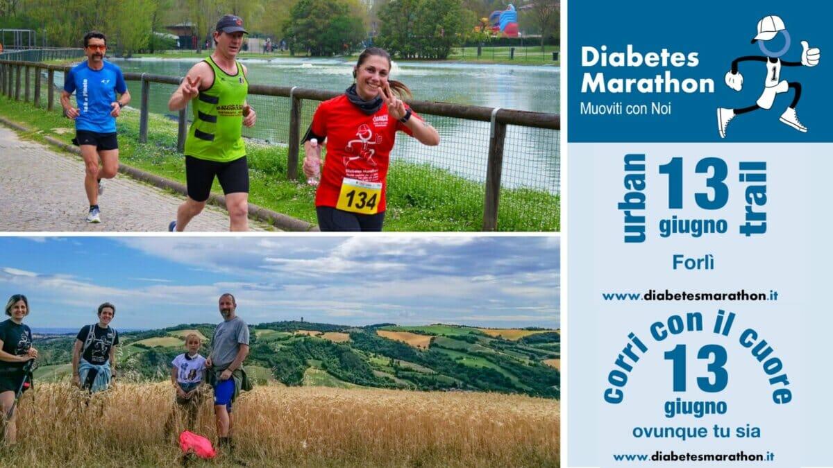 """Diabetes Marathon """"Green Edition"""", Domenica 13 Giugno La Grande Corsa Solidale Torna In Presenza E Si Integra Con Il Virtuale"""