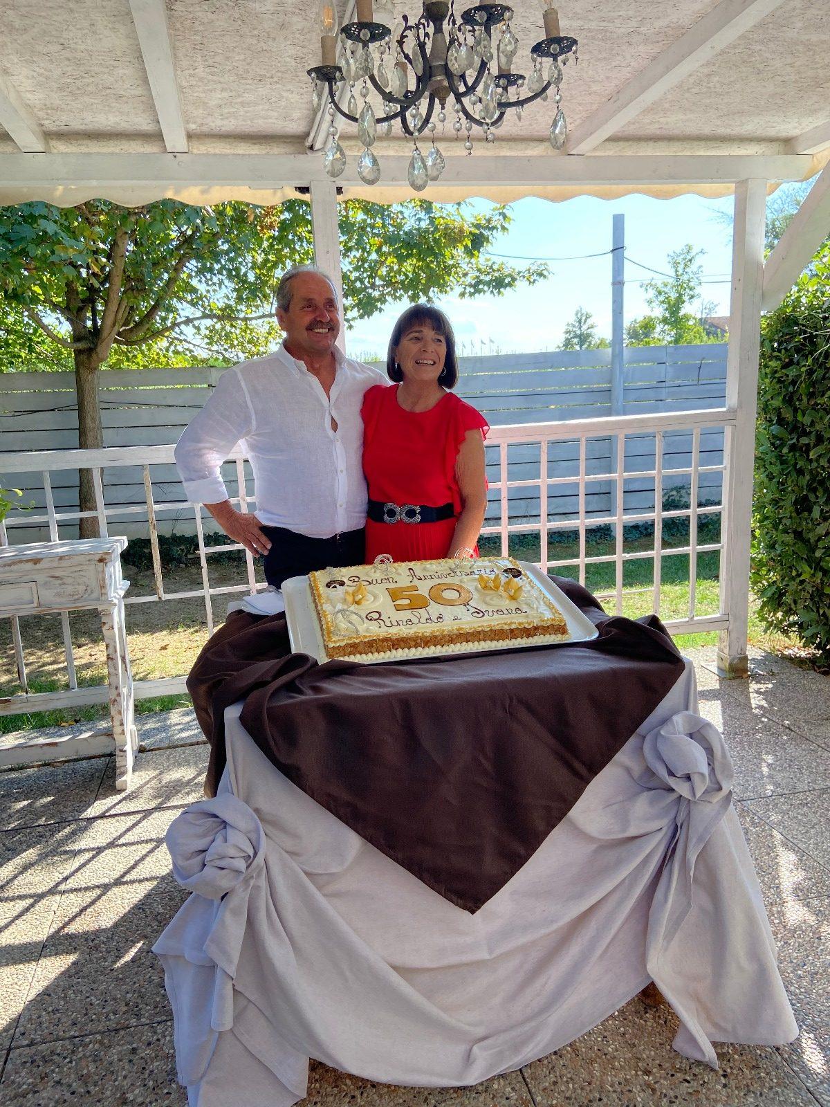 50 Anni Di Matrimonio Festeggiati Con Diabete Romagna, Ivana Brazzini E Rinaldo Amadori Ed Una Storia D'amore Infinito